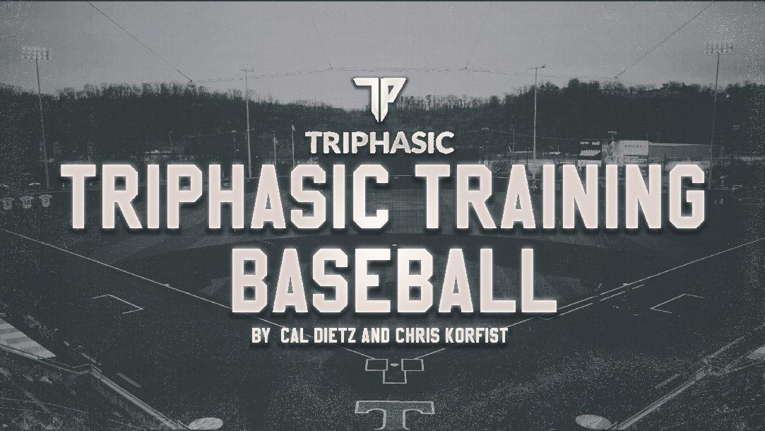 Triphasic Baseball Training Manual by Cal Dietz CoachTube - training manual