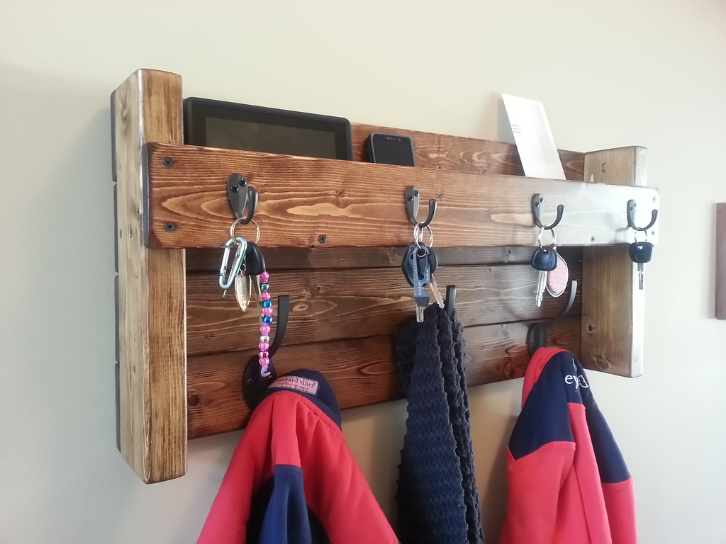 Hanging Mail And Key Organizer Hanging Mail And Coat Organizer