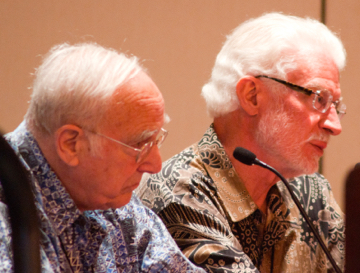 Left: John Geyman MD (University of Washington Emeritus); Right: Charles Q. North, MD, MS (University of New Mexico)