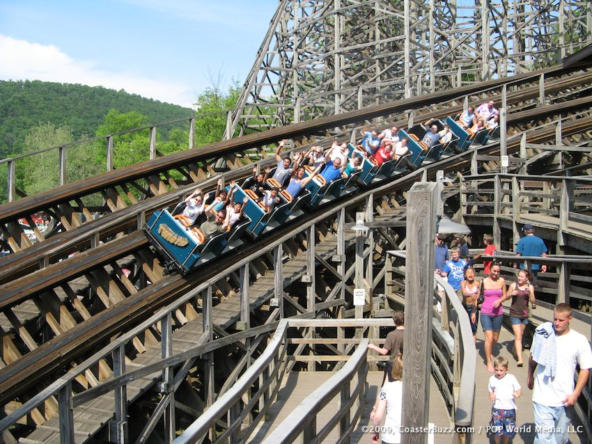 New World Calendar Meeting Prophecy Calendar For 2018 To 2020 Recent Past And Twister Photo From Knoebels Coasterbuzz