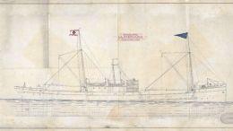 The Schematics W.M Barkley 1917 built in Troon, Scotland
