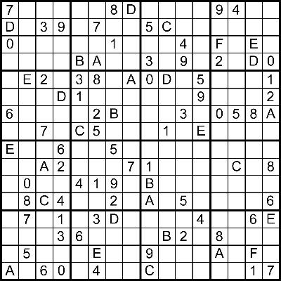 CSCI 4500/6500 Programming Languages Project 6  Sudoku - Prolog