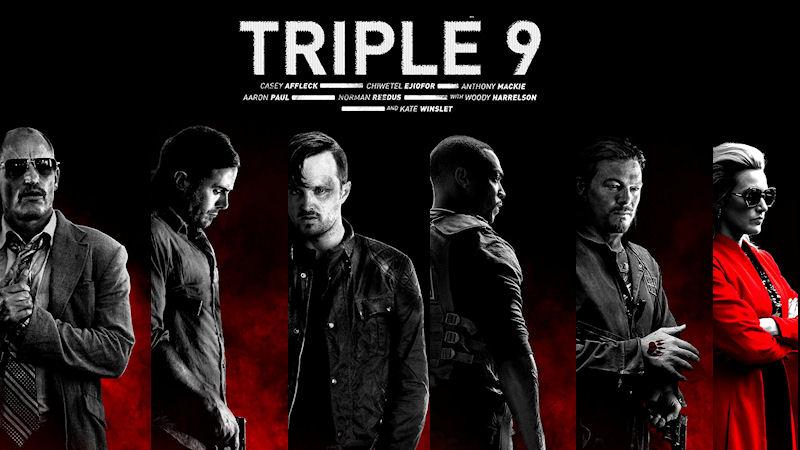 """Critica a """" Triple 9"""" (2016) de John Hillcoat"""