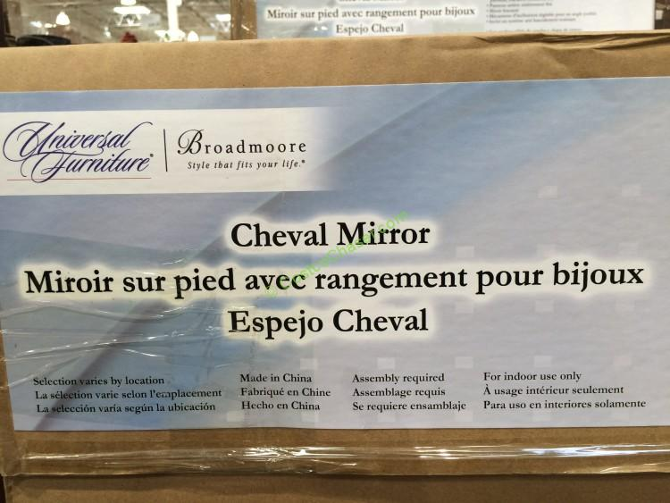 Full Length Mirror Costco Universal Broadmoore Cheval Mirror – Costcochaser