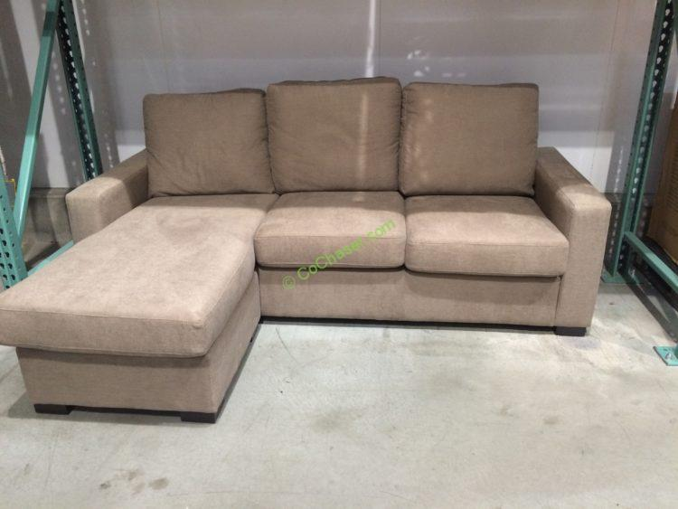Fabric Sectional Sofas With Chaise Costco Chaise Sofa Fabric Sofas Sectionals Costco - Thesofa