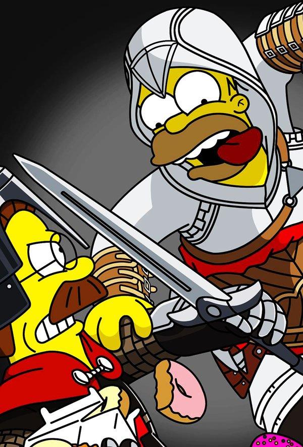 Wallpaper Chucky 3d 36 Mashups De Los Simpsons Con 237 Conos De La Cultura Pop