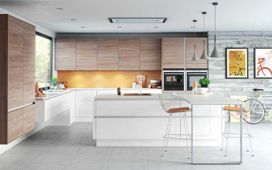 El espacio disponible no es necesariamente una limitante para hacer una  cocina para entretener ad68d9d7b6f2