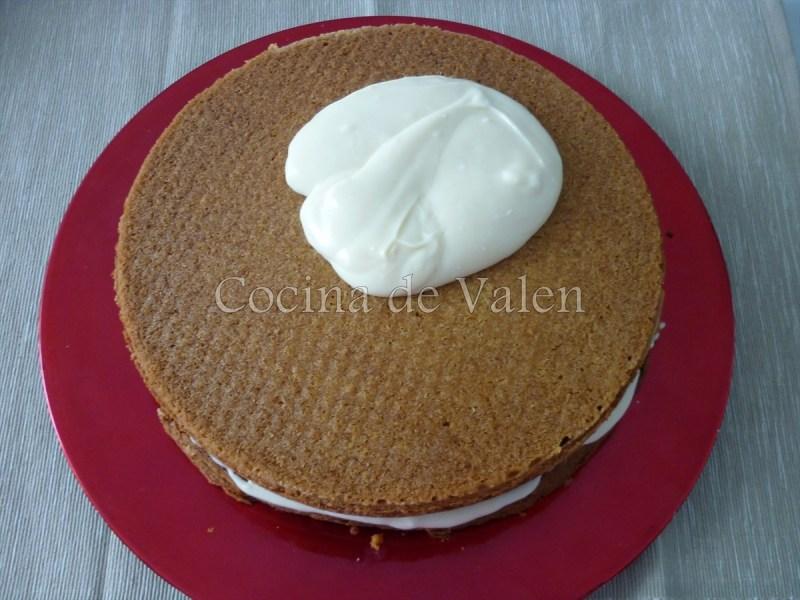 Torta de Zanahorias con frosting de Queso Crema - Cocina de Valen