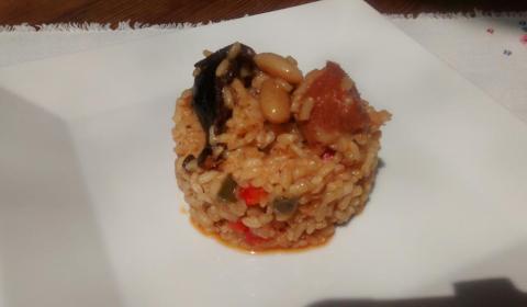 arroz con compango