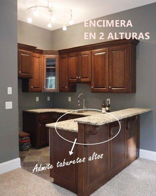tips-deco-11-ideas-para-cocinas-pequenas-small-kitchen-deco - cocinas con barra