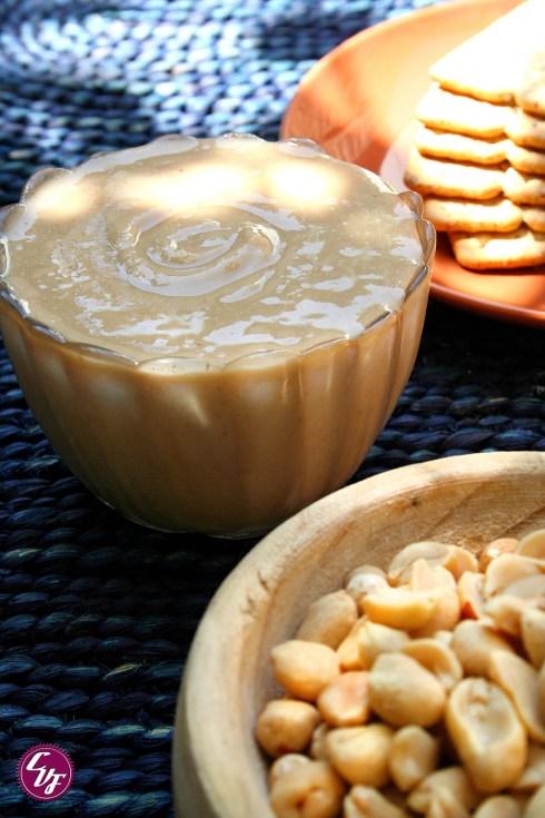Crema de maní (cacahuete)