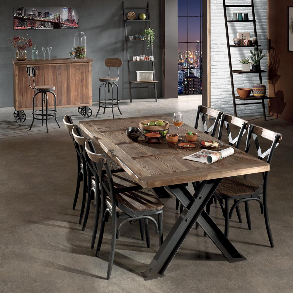 Table Exterieur Industriel Table Industrielle Westlock