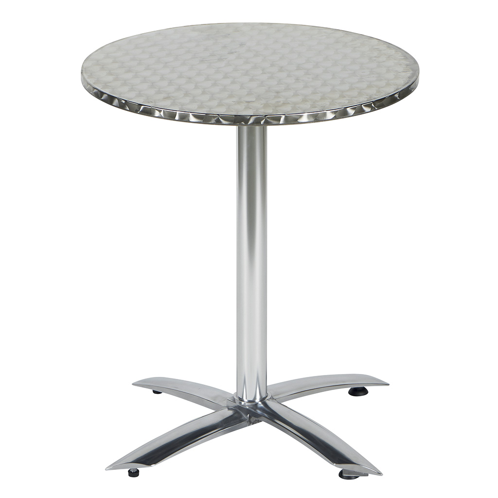 Table Bistrot Inox Table Ronde Bistrot Topsail