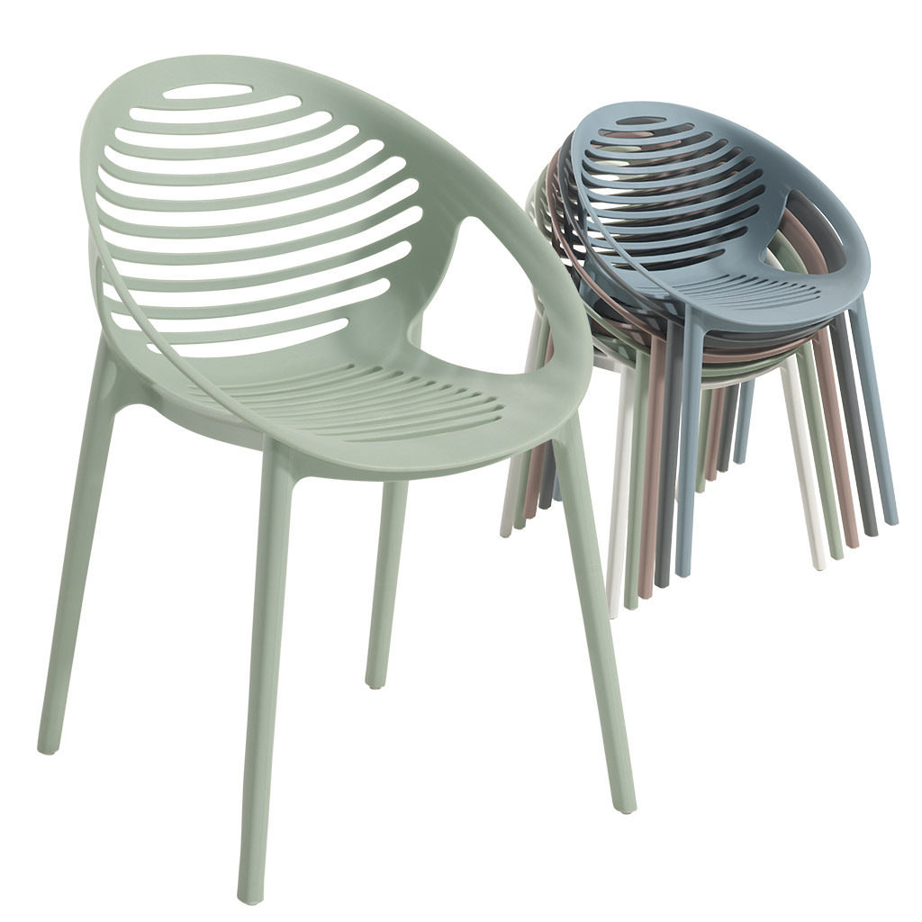 Chaises Empilables But Chaise Empilable Rimini