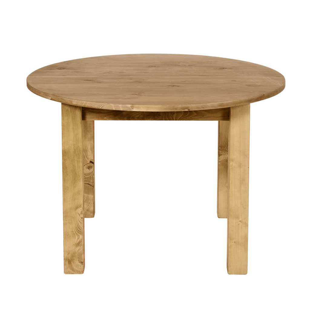 Table Ronde Scandinave Rallonge Table Ronde Moving