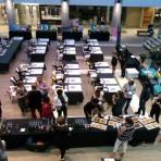 Bryanston shopping centre team painting event