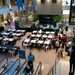 Teambuilding event Bryanston shoping centre