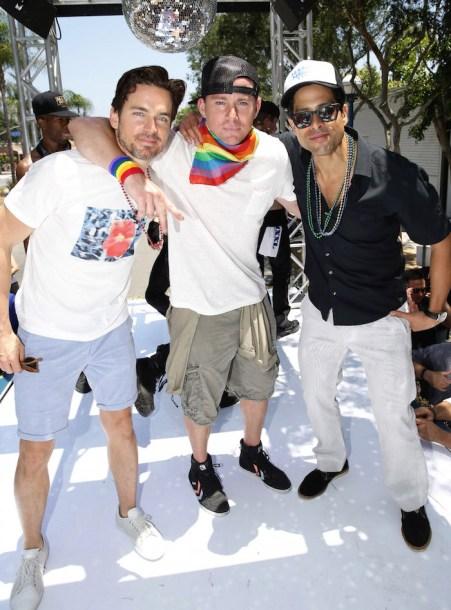 Matt Bomer, Channing Tatum, Adam Rodriguez
