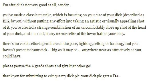 dick-critique