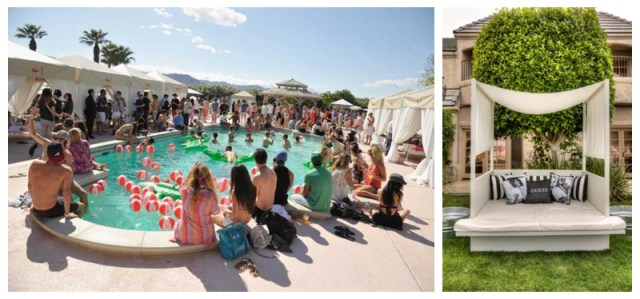 Pool Parties at Coachella
