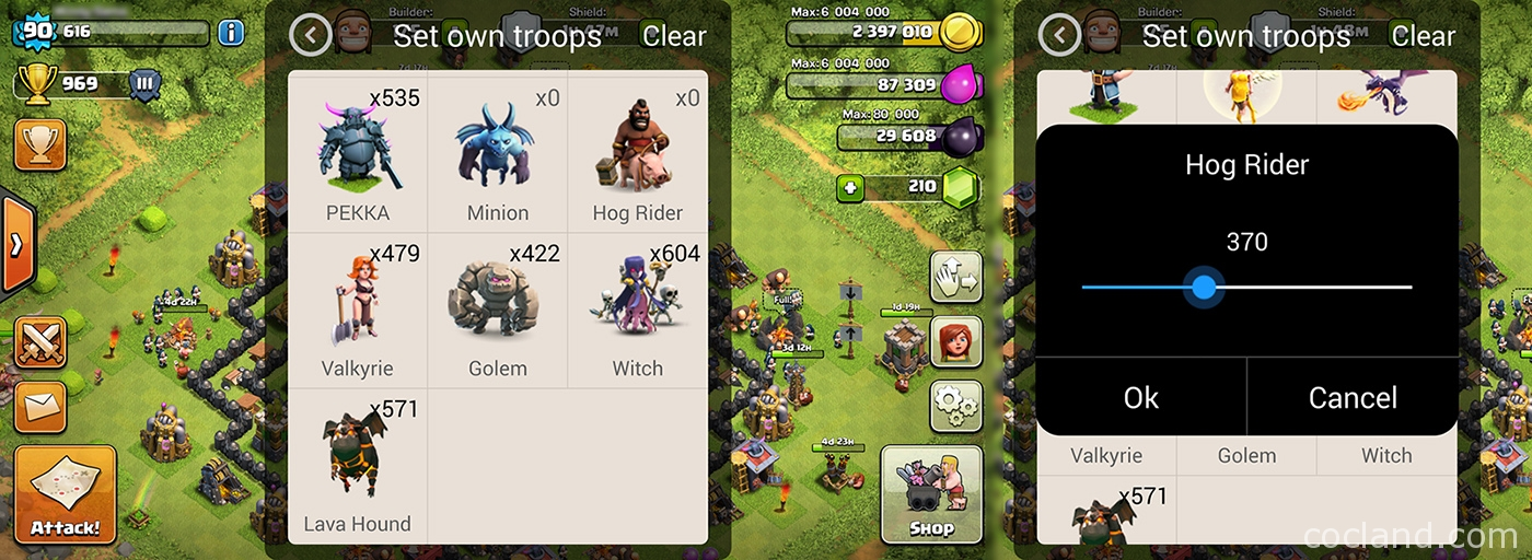 Xmodgames best tool for clash of clans selling quot clash of clans