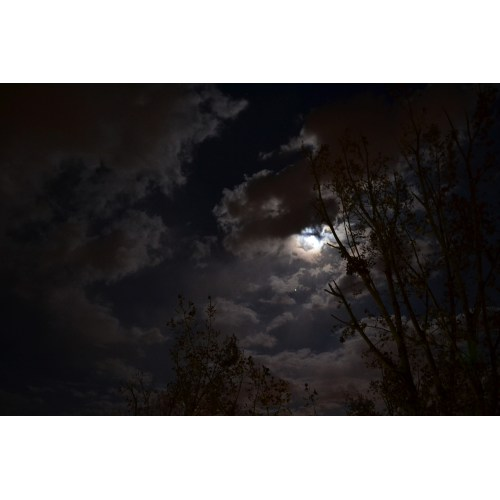 Medium Crop Of Moon And Clouds