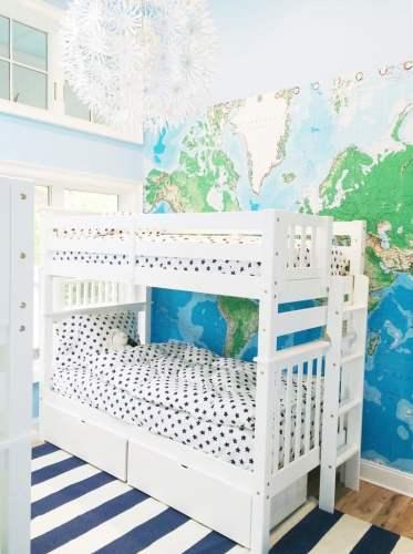 8 Cute Bunkrooms – Bunk Bed Bliss