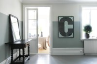Color Block Living Room - Two Tone Decor | COCOCOZY