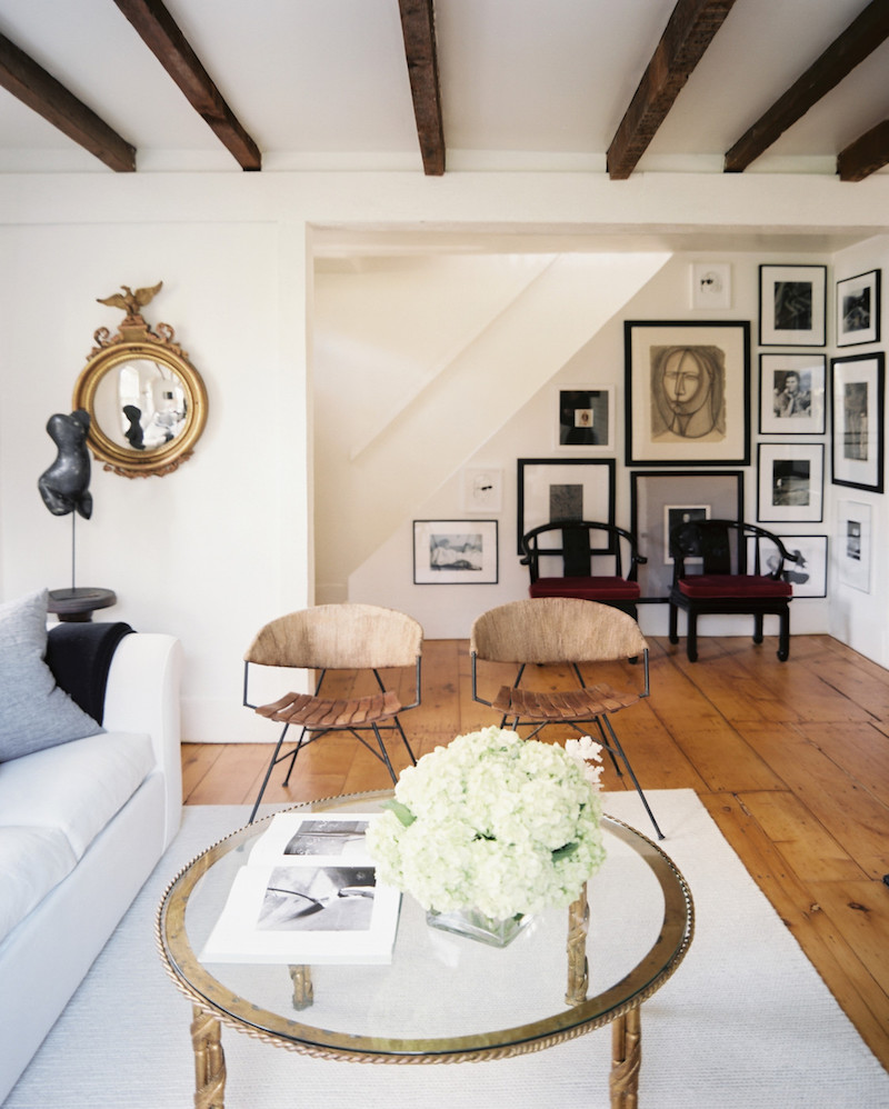 Love These Cube Tables For Patio Or Living Room Made From: SAG Harbor Cottage - House Tours