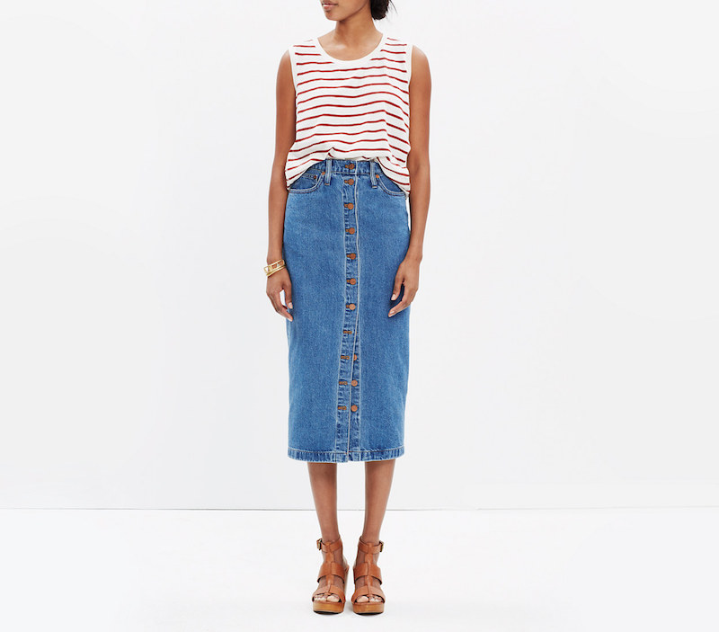 5 Denim Skirts – Fashion Finds