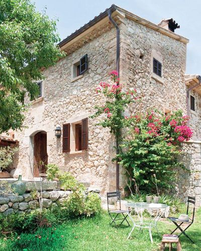 Gorgeous Spanish Stone Villa – Mallorca Spain House Tour