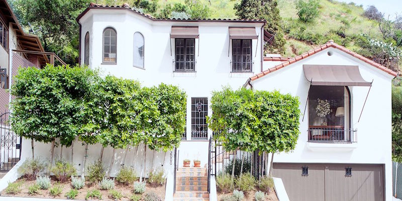 Debra Messing Hollywood Hills House Tour
