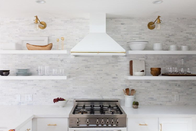Super Small White Kitchen