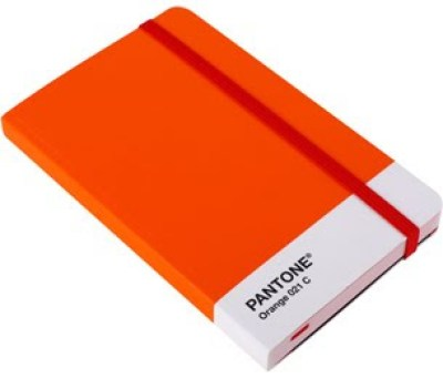 Pantone Orange Notebook