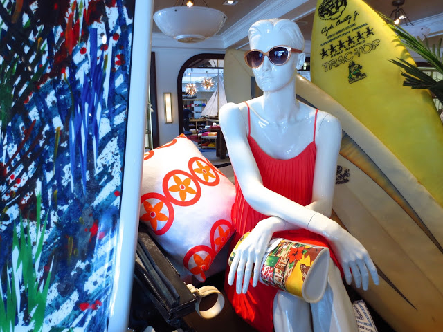 Tommy Hilfiger West Hollywood Store Surf Shack summer capsule collection COCOCOZY pillow pink orange fashion