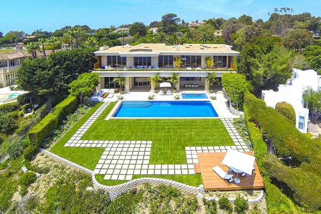 Multi million dollar beach house in Malibu, CA