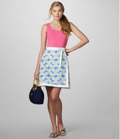 Reversible wrap skirt by Lilly Pulitzer