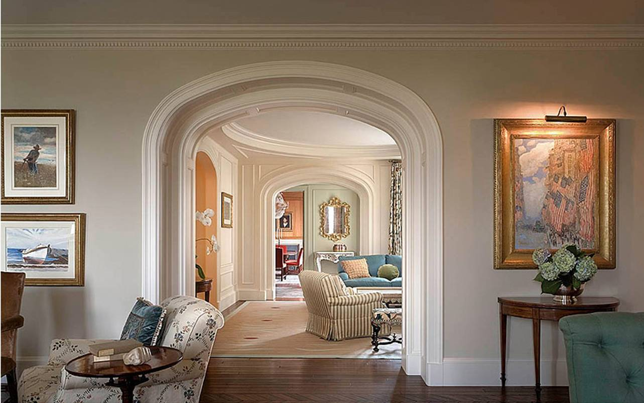 See this house overarching chic design in a fab new york for New design sitting room