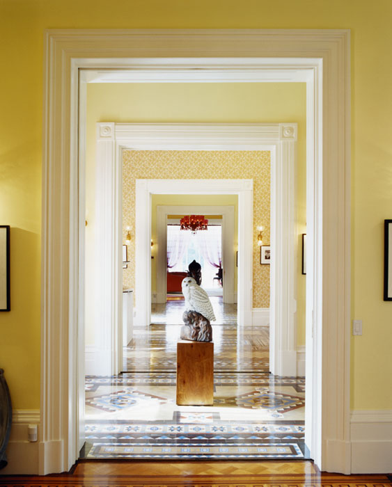 Weekend photo door to door why i want my own enfilade for Enfilade architecture