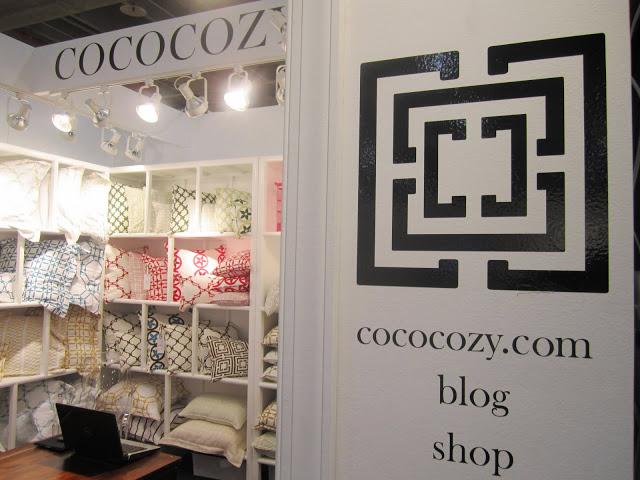 COCOCOZY booth at the New York International Gift Fair