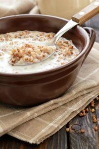 Buckwheat with milk