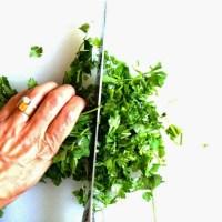 Mom's Persian Herb Stew (Ghormeh Sabzi) for Persian New Year #Norouz2015