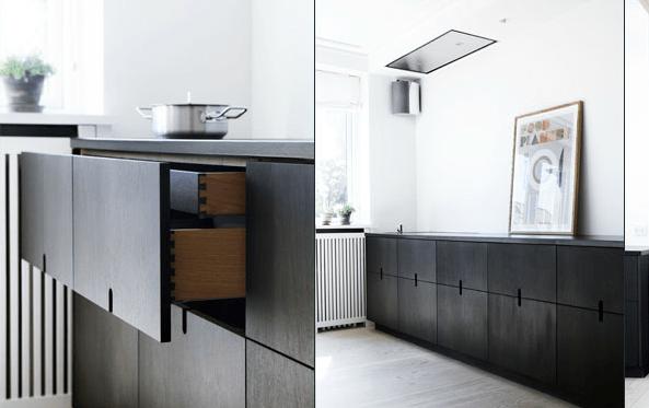 Simpel and elegant kitchen - via Coco Lapine