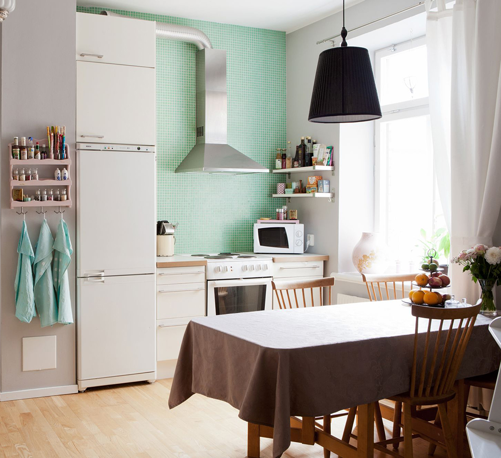 Mint Green Kitchen: COCO LAPINE DESIGNCOCO LAPINE