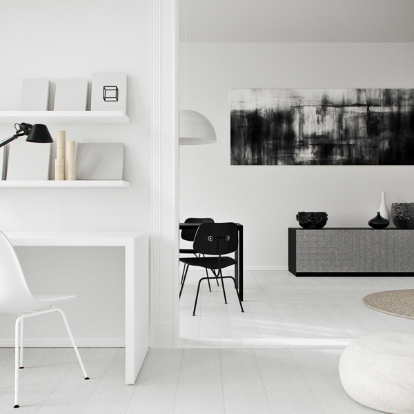 3D flat 'in Berlin' - via Coco Lapine Design