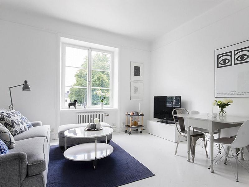 fresh living room in a 40m2 apartment coco lapine designcoco lapine design. Black Bedroom Furniture Sets. Home Design Ideas