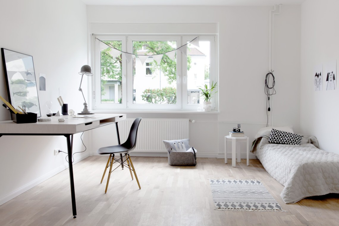 Berlin mix of vintage and modern - by cocolapinedesign.com
