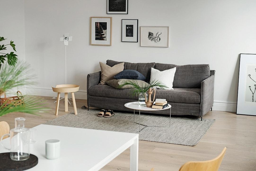 Home with soft and natural tones - via cocolapinedesign.com