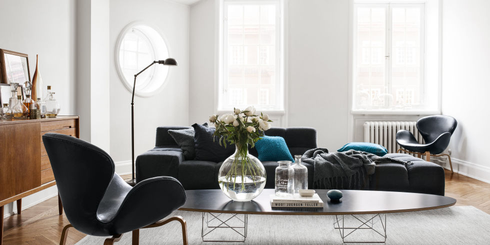 Home of H&M's head of design - via cocolapinedesign.com