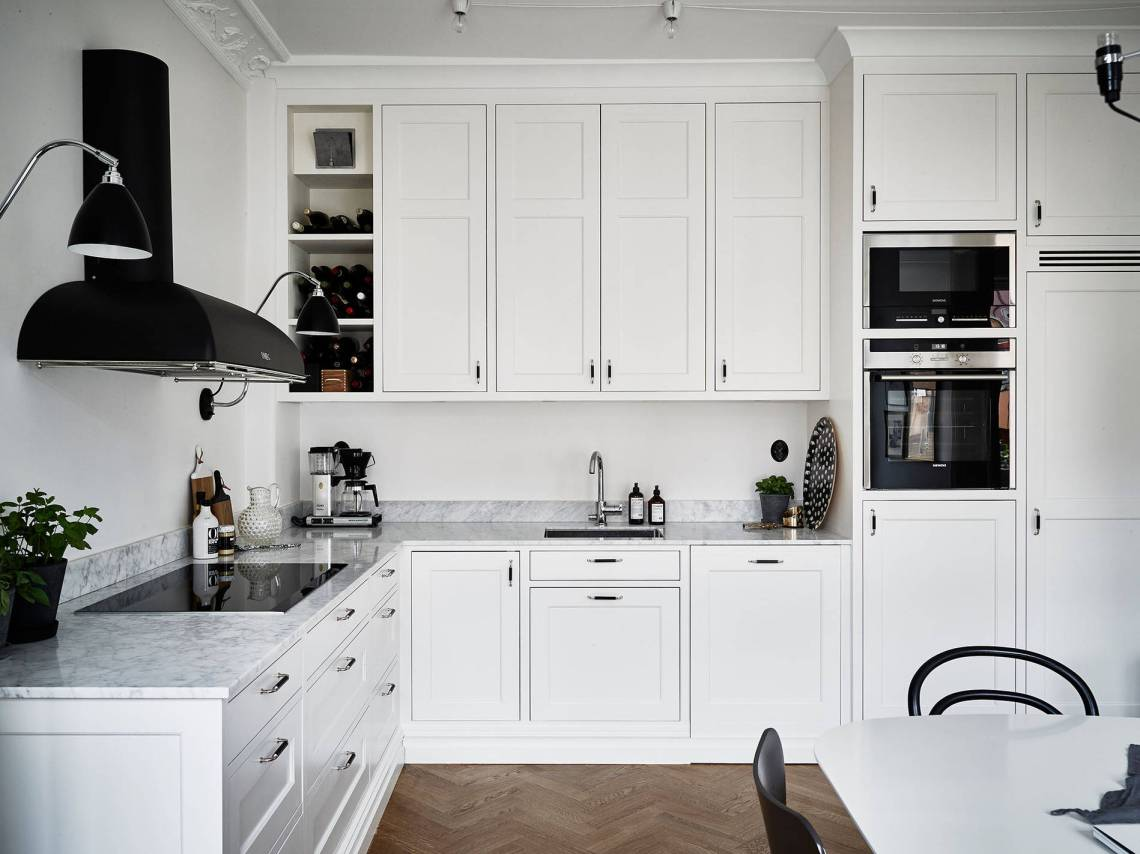 Ikea Kroktorp Küche Classic Kitchen With A Fresh Look Coco Lapine Designcoco